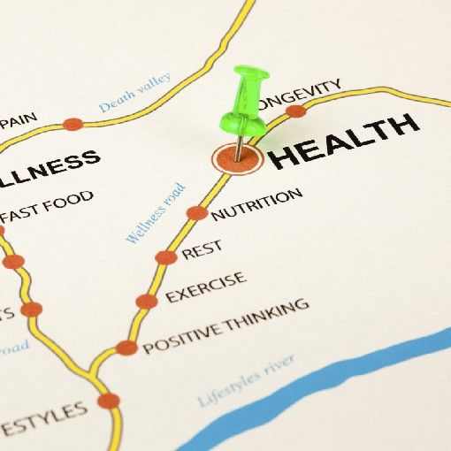map of health