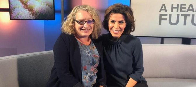 The College of Medicine gets behind the camera with Natasha Kaplinsky to produce new programme on social prescribing
