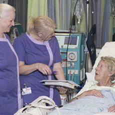 'We don't do it for clinical improvements, we do it to relax patients': How complementary therapies are helping Manchester hospital's renal unit