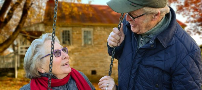 How can we promote better mental health in the older generation?