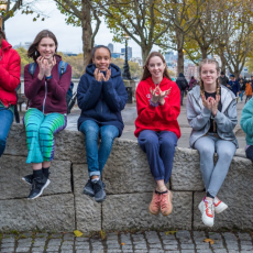 Young people's mental health: Scheme trains teens to teach others benefits of yoga
