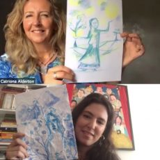 """""""There's no pressure to produce anything"""" Art counsellors reveal how simply doodling can boost mental health and well-being"""