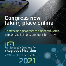 Registration is now open for the European Congress of Integrative Medicine 2021